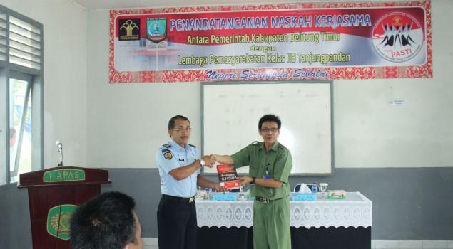 Lapas Tanjung Pandan Tingkatkan Penyediaan Buku Bacaan Bagi WBP