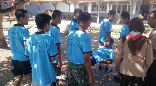 Rutan Wonosari Bentuk Disiplin Andikpas dengan Pramuka