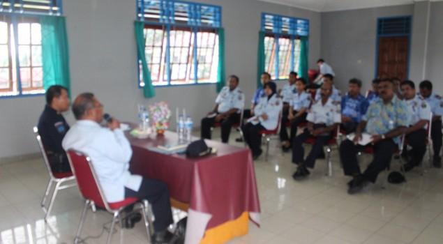 Kadiv PAS Papua Monitoring Kinerja Lapas Serui