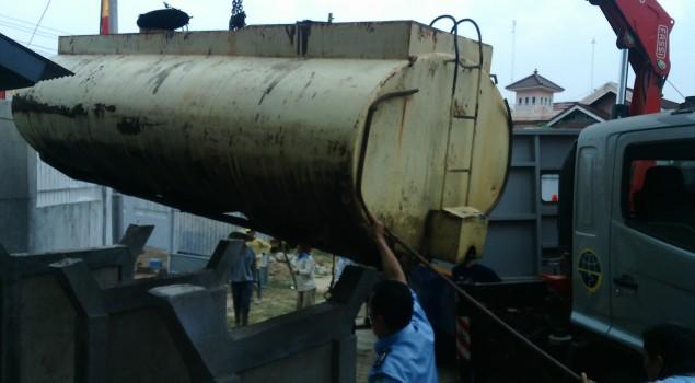 Tampung Air Bersih, Rupbasan Palembang Manfaatkan Tangki Menahun