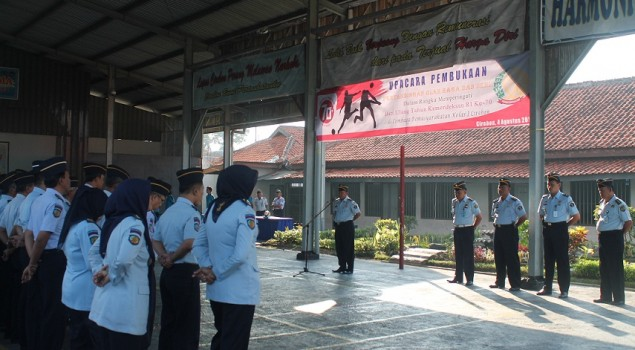 Kegiatan Olahraga & Seni Lapas Cirebon Resmi Dibuka