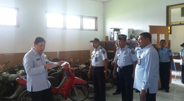 Staf Khusus Menkumham Bertandang ke Rupbasan Ambon