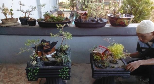 Ada Miniatur Taman nan Eksotis di Lapas Narkotika Sungguminasa