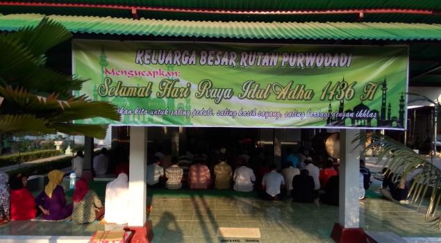 Sholat Idul Adha Dan Penyembelihan Hewan Qurban  Di Rutan Purwodadi