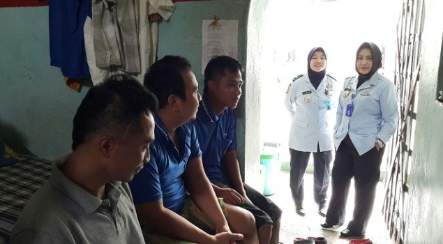 Terkait Penitipan Wawan, Kakanwil Banten Sidak Rutan Serang