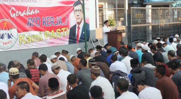 Rayakan Idul Adha, Lapas Sumedang Potong Kurban di Hari Tasyrik
