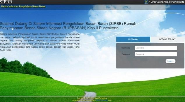 Rupbasan Purwokerto Ujicobakan Aplikasi SIPBB