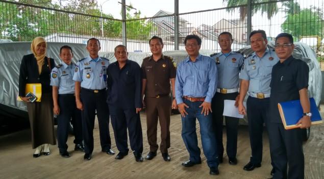 Basan di Rupbasan Palembang Disidang Objek Fisik