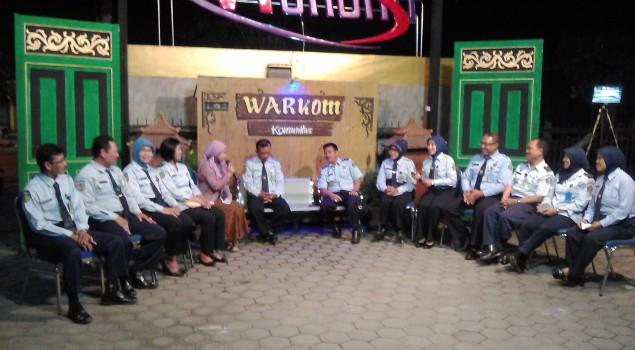 Bapas Kediri On Air di Dhoho TV