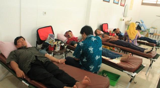 Lapas Terbuka Jakarta Adakan Kegiatan Donor Darah