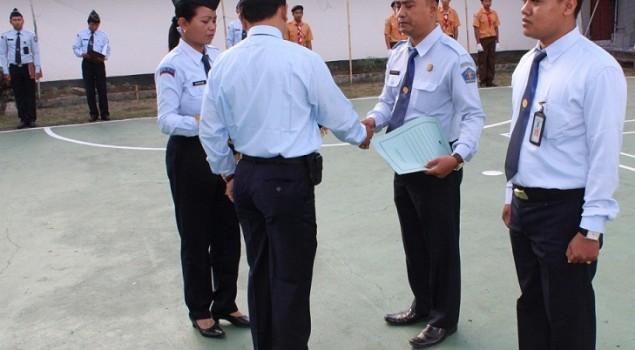 Naik Pangkat, Petugas LPKA Karangasem Diharap Tingkatkan Profesionalisme