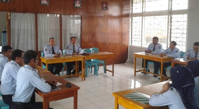 Bapas Bukittinggi Koordinasi SPPA dengan LPKA Tanjung Pati