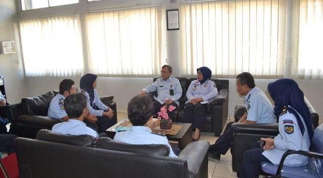 Lakukan Monitoring, Rupbasan Bandung Kedatangan Staf Ahli Menteri