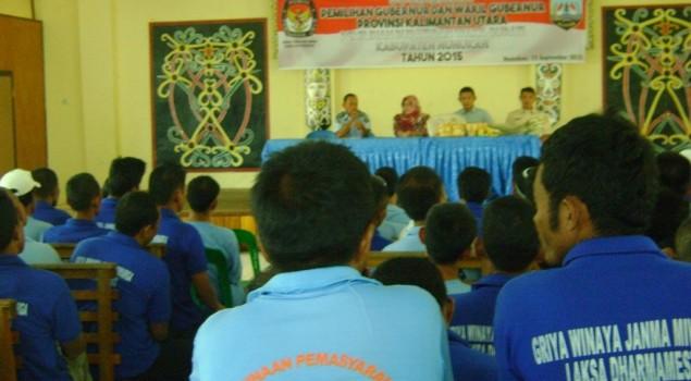 KPU Nunukan: Warga Binaan Lapas, Jangan Terjebak Money Politic