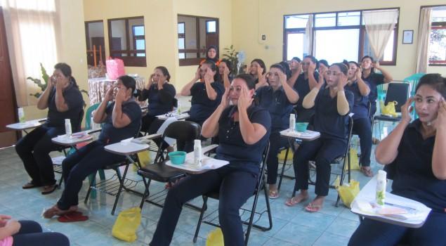 20 WBP Lapas Wanita Malang Siap Jadi Ahli Facial Wajah