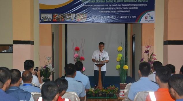 Latih WBP, Lapas Narkotika Jakarta Lanjutkan Kerjasama dengan Kementerian PU