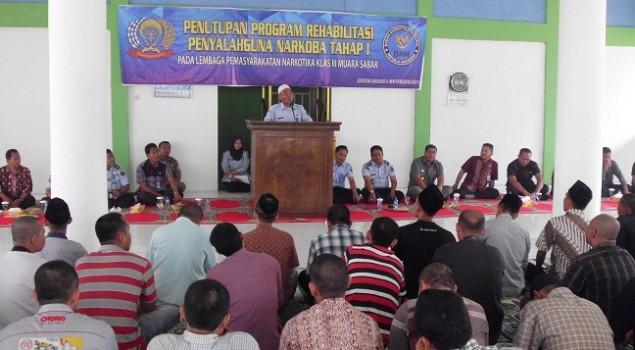 60 WBP Lapas Narkotika Muara Sabak Tuntaskan Program Rehab Narkoba