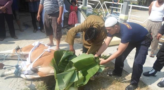 Serangkaian Acara Ramaikan Idul Adha di Rutan Ambon