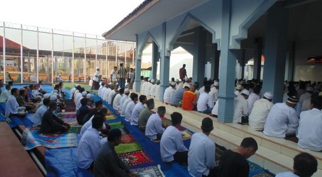 Takbir Idul Adha Berkumandang di Lapas Warungkiara