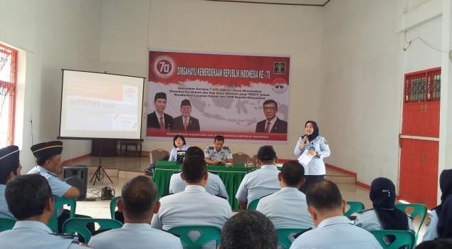 Lapas Padangsidimpuan, Tuan Rumah Sosialisasi e-PUPNS