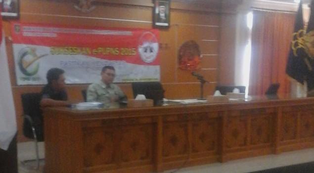 Kanwil Bali Sukseskan E-PUPNS Tahun 2015