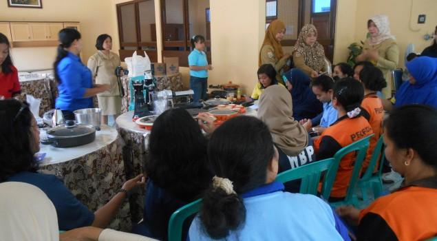 WBP Lapas Wanita Malang siap jadi Koki, Perias dan Ahli Pijat