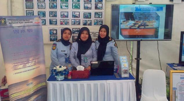 Rupbasan Bandung Ikuti Legal Expo Kemenkumham di Balai Kota Bandung