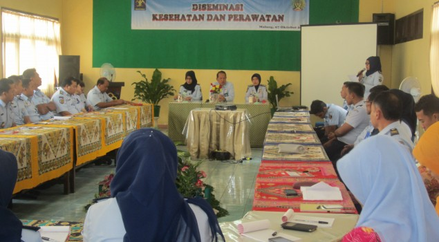 Seluruh UPT Pas Jawa Timur  Ikuti Desiminasi Kesehatan dan Perawatan Berbasis IT