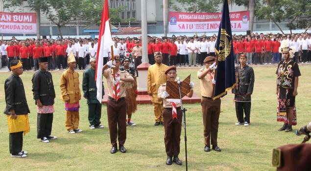2.000 WBP Lapas Narkotika Jakarta Ikuti Upacara Sumpah Pemuda