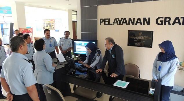 Staf Ahli Menkumham Puji Pelayanan Publik di Lapas Narkotika Yogya