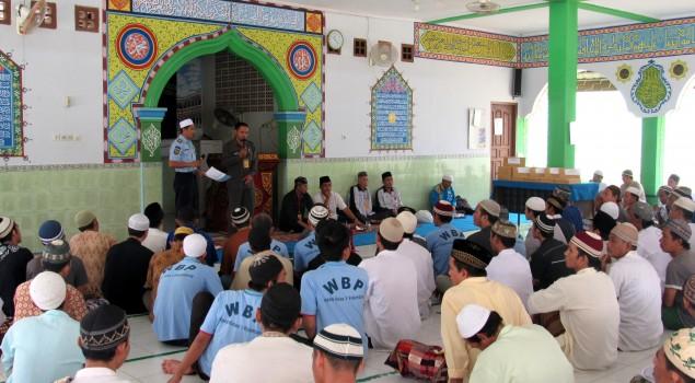 Pekat Asap Tidak Surutkan Semangat  Peringatan 1 Muharam di Lapas Palembang
