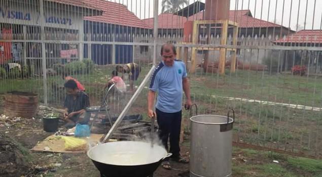 Rutan Marabahan Tradisikan Pembuatan Bubur Asyura