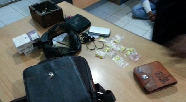 Dua Pembawa Narkoba Ditangkap P2U Lapas Kotabaru