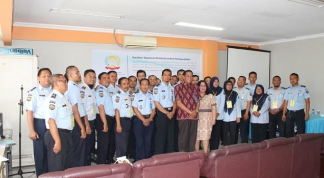 Petugas Rupbasan Harus Belajar Sistem Baru Berbasis IT