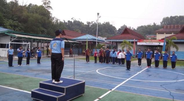 Lapas & Kanim Tarakan Gelar Kegiatan Peringati HDKD 2015