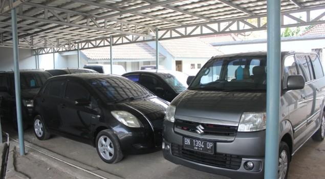 Kejari serahkan 13 Kendaraan hasil TPPU ke Rupbasan Pangkal Pinang
