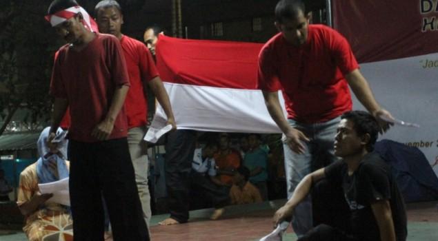 Peringati Hari Pahlawan, WBP Lapas Narkotika Jakarta Gelar Theatrikal Drama