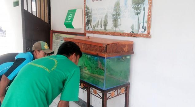 Ikan Arwana, Menu Pembinaan Tambahan Rutan Rangkasbitung