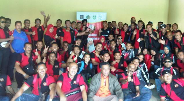 Kontingen Peserta APTFC 2015 Tiba di Palembang