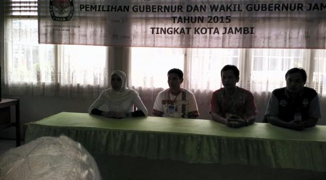 Lapas Jambi Sosialisasikan Pemilihan Kepala Daerah pada WBP