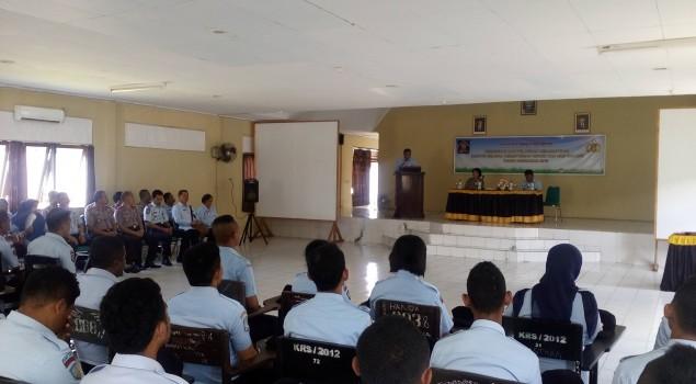 30 Petugas Pemasyarakatan se-Maluku Ikuti Pelatihan Kesamaptaan di SPN Ambon