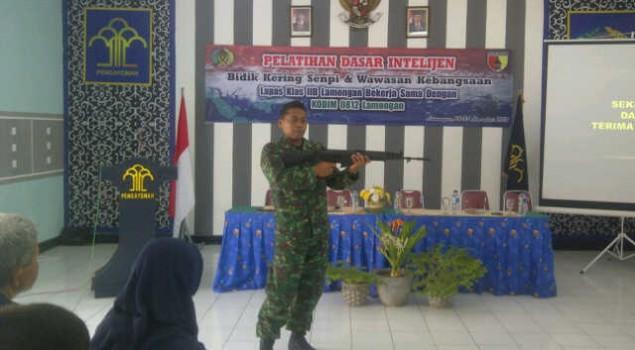 Lapas Lamongan Beri Latihan Bela Negara, Intelijen dan Menembak Untuk Petugas