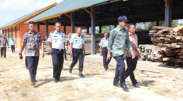 Rupbasan Kendari Terima Kunjungan Inspektur Wilayah II