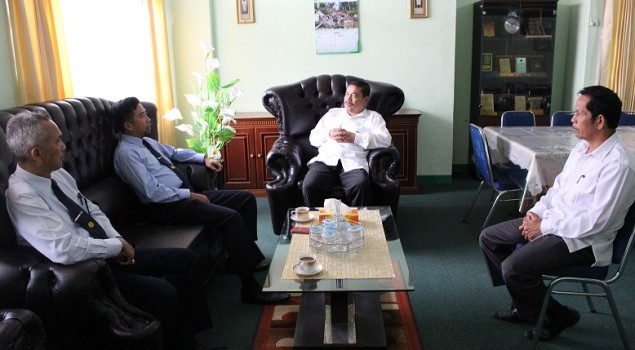 Kunjungi PSBR Rumbai, Kabapas Pekanbaru Bahas UU SPPA