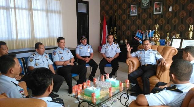 Lapas Narkotika Sungguminasa Sambut Studi Banding Rupbasan Kendari