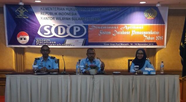 Ayorbaba: Maksimalkan Laporan SDP di UPT Pemasyarakatan