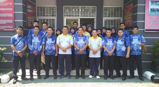 Petugas Rutan Garut Studi Banding ke Nusakambangan