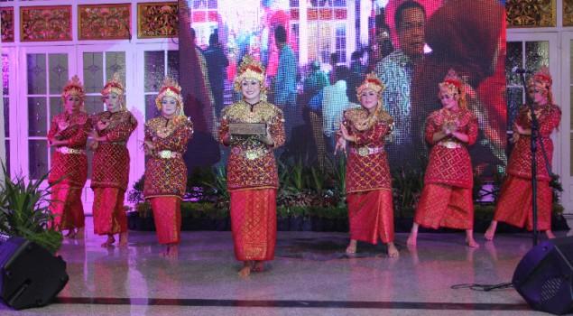 WBP Lapas Wanita Palembang Tampil Cantik Bawakan Tari Tanggai