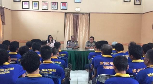 WBP Lapas Pemuda Tangerang Dapat Bimbingan & Penyuluhan Hukum