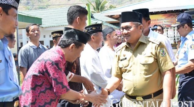 Salut Pembinaan Keagamaan di Lapas Gorontalo